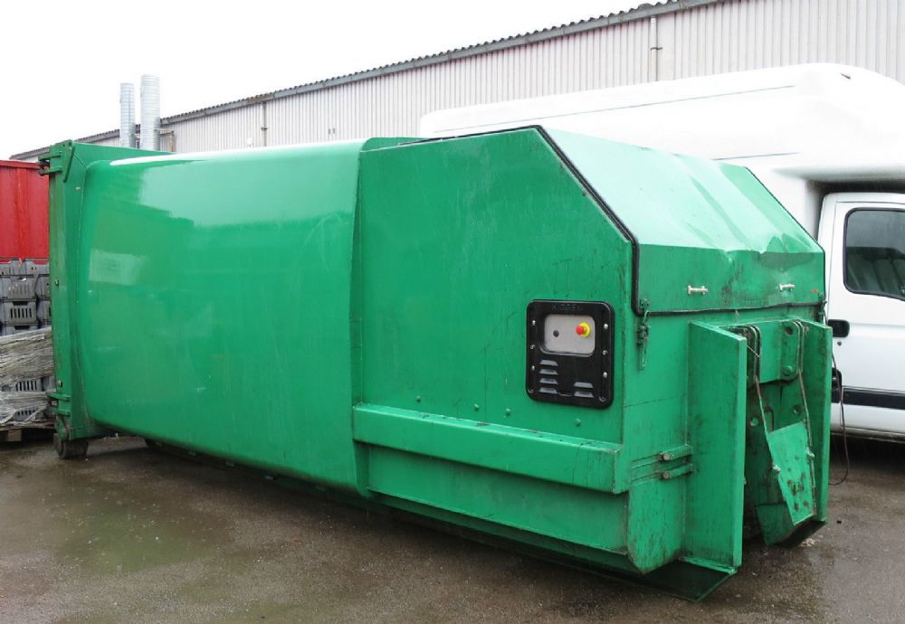 Kiggen PDE PD731 Portable Waste Roll On Roll Off Compactor General Compaction